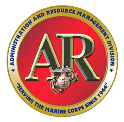 Emblem of the Administration and Resource Management Division (AR)
