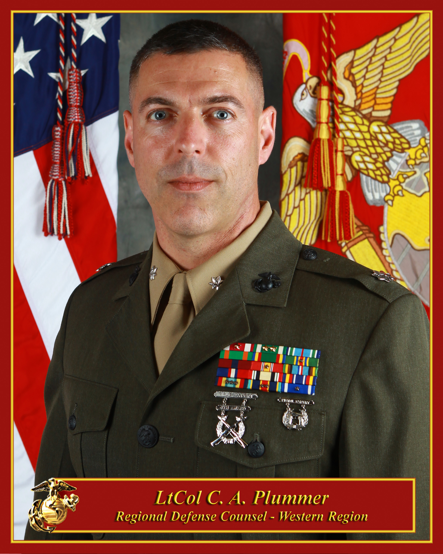 Marine Judge Advocate: Regional Defense Counsel