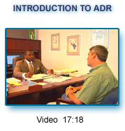 Introduction to ADR Video